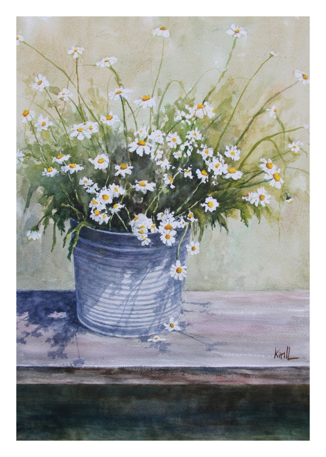 Bucket of Daisies