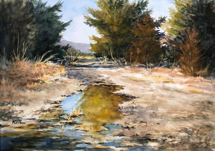 Sunny Mud Path
