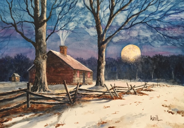 The Wick House Super-moon